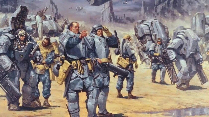 Starship Troopers franchise. The original source, and its film adaptation. Part 1