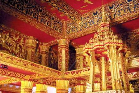 Ngôi đền ở Luang Prabang