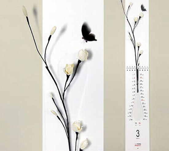 Ý tưởng sáng tạo làm đẹp nhà bằng lịch hoa độc đáo - Archi