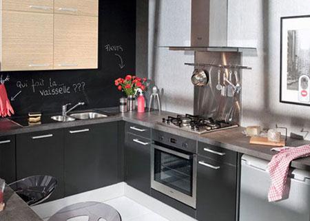 Tủ kệ cách điệu cho nhà bếp - Archi
