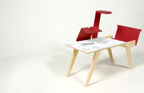 Polichinelle - chiếc bàn thông minh - Archi