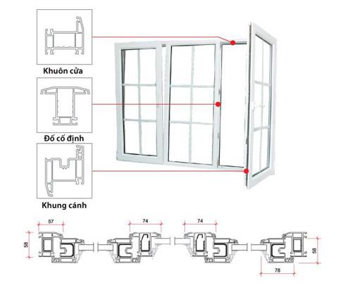 Cửa sổ cho nhà hạn chế không gian bên ngoài - Archi