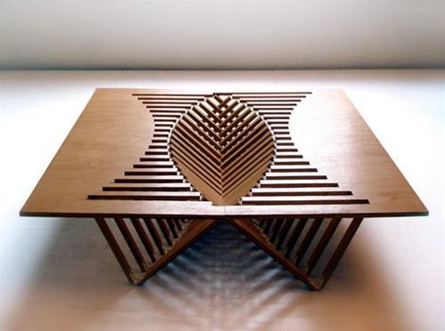 Bàn gỗ độc đáo cho không gian hẹp - Archi