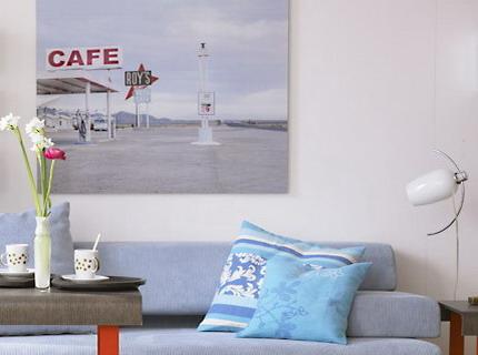 Bài trí phòng khách kiêm phòng ăn thanh lịch trong 28m2 - Archi