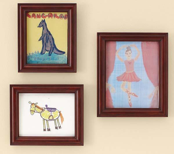 Trang trí nhà bằng tranh của bé - Archi