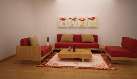Sang trọng và gần gũi với sofa tre ép - Archi