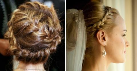Các kiểu tóc thắt bím quyến rũ nhất cho cô dâu