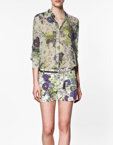 Sơ mi hoa Zara gây sốt cộng đồng thời trang - 5