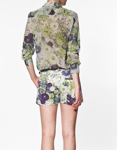 Sơ mi hoa Zara gây sốt cộng đồng thời trang - 6