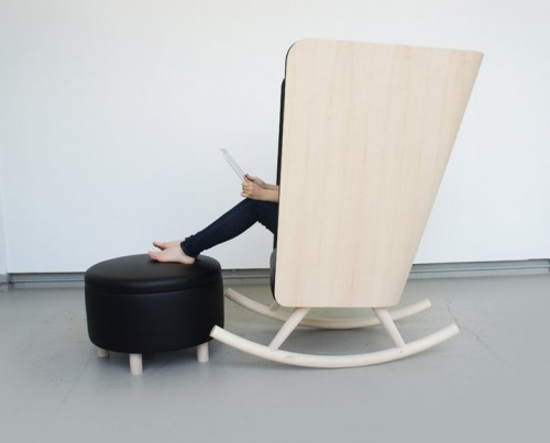 Thư giãn với ghế Rocker - Archi