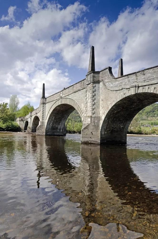 General Wades Bridge across the River Tay