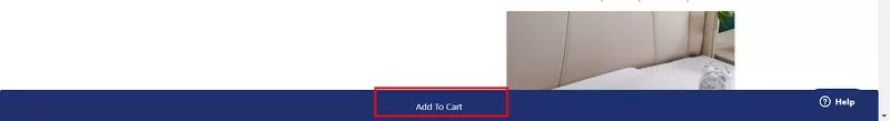 Ecommerce CRO tip: Sticky Add to cart button
