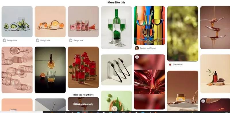 Pinterest product photography ideas