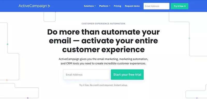 Klaviyo alternative - ActiveCampaign (AC Email Marketing Automation)