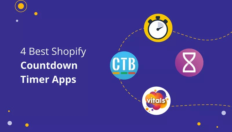 4 Great Countdown Timer Shopify Apps