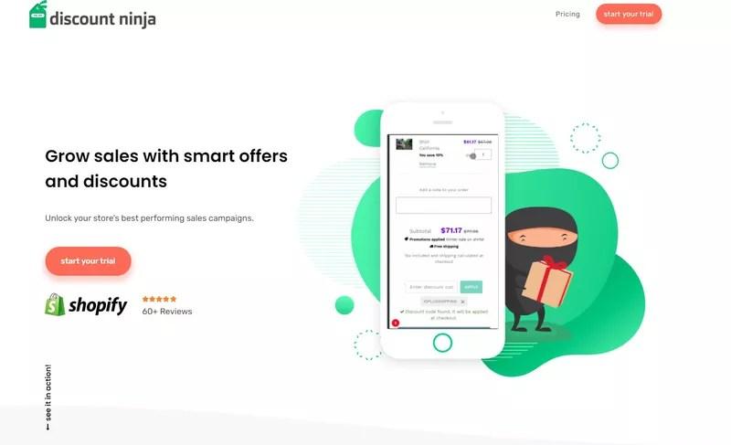 Bogo App #3 Discount Ninja – more options for BOGO sales