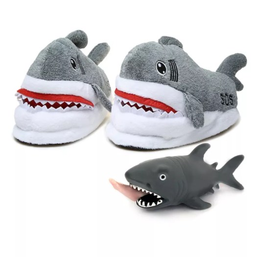 FUNNY SHARK SLIPPER