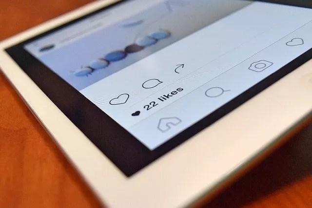 blogging on instagram