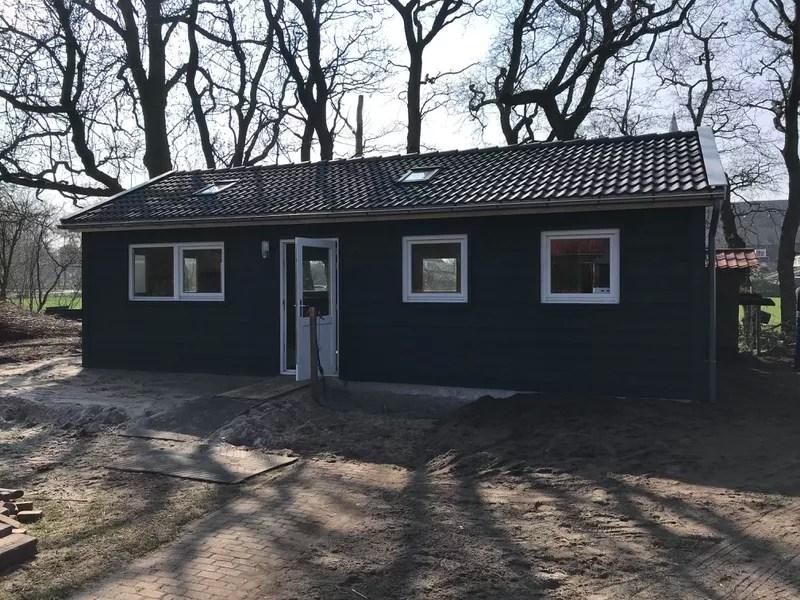 Droogtoilet voor zorgboerderij Zebrazorg. 1