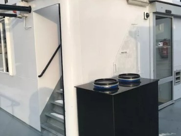 Ecosave micro-flush toiletten en zuivering op schip. 2