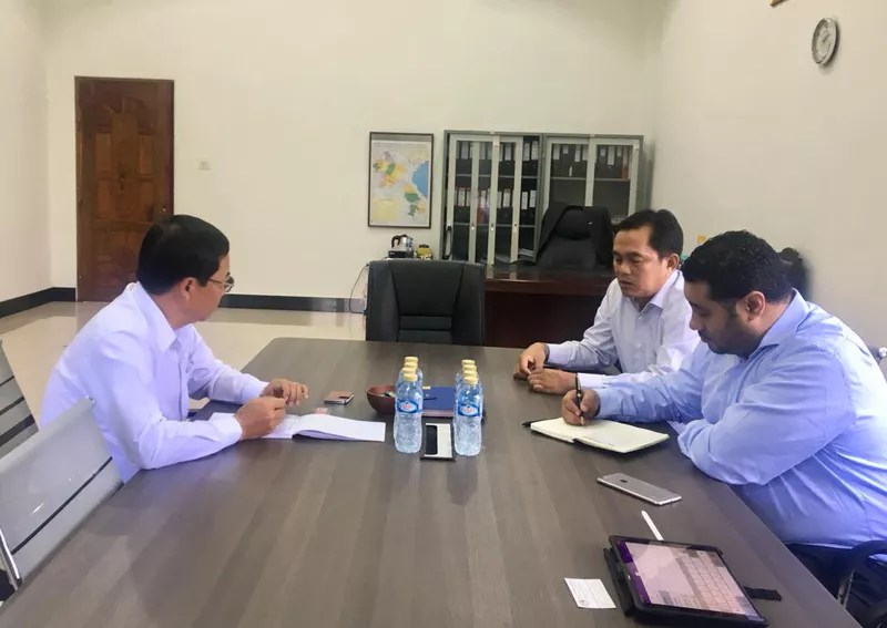 Meeting with Civil Aviation
