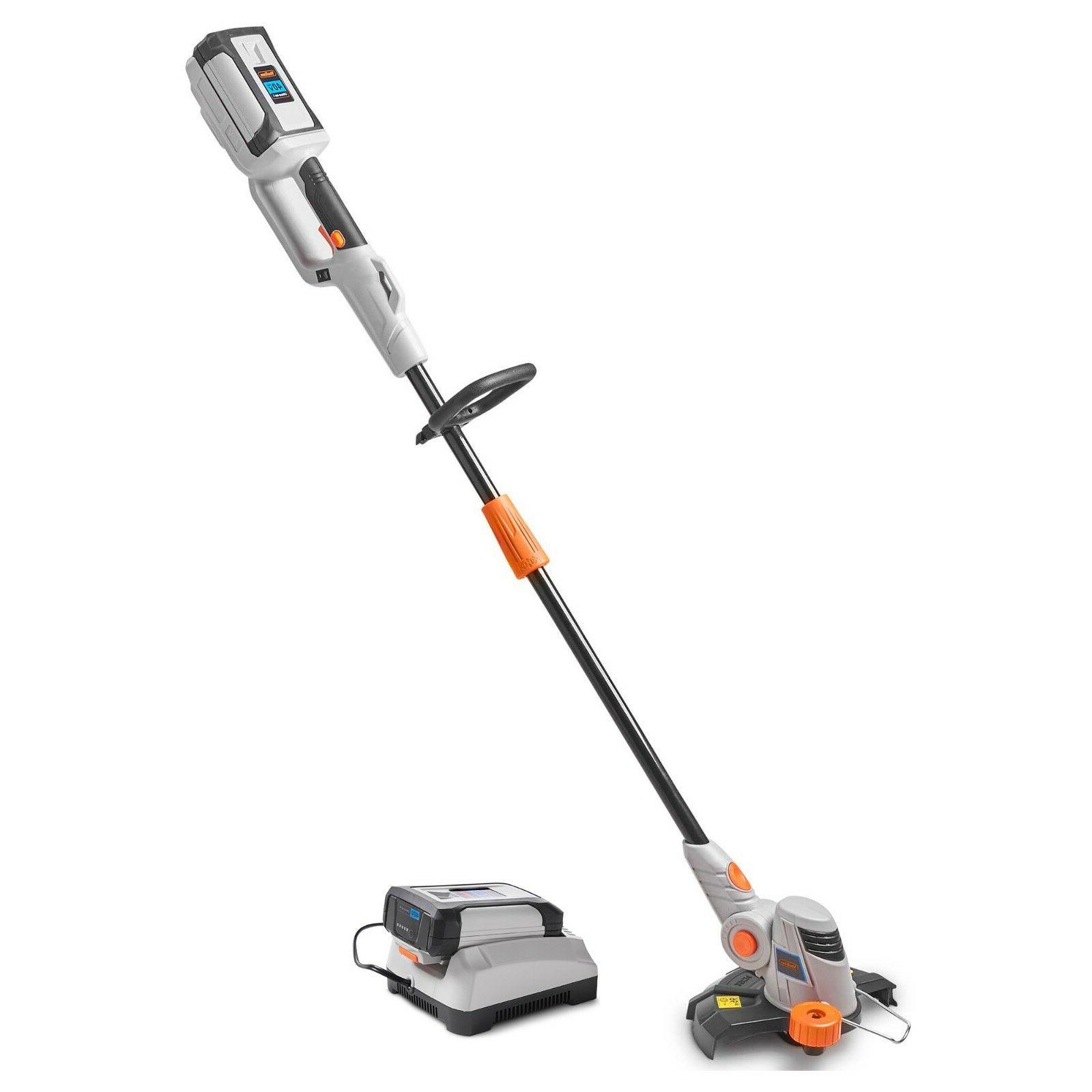 VonHaus 40V Cordless String Trimmer/Edger with Angle, Head