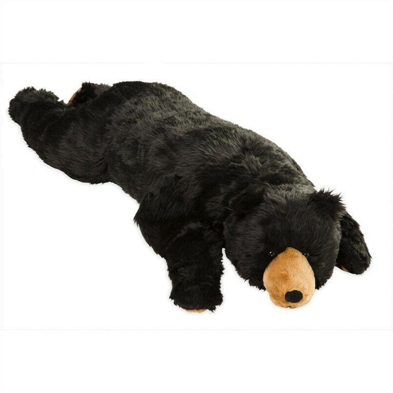 large life sized plush black bear body pillow stuffed animals lenka creations toys hobbies