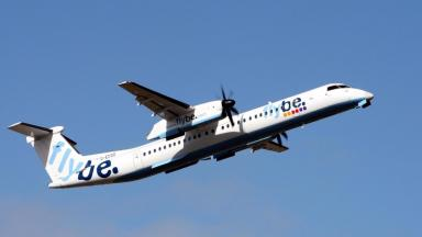 44 people were in the Flybe plane.