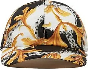 Versace Iconic baroque pattern cap