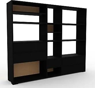 etageres bibliotheques en noir 68