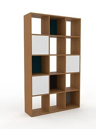 etageres bibliotheques en bois clair