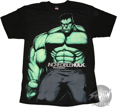 Incredible Hulk Bruce Banner T-Shirt