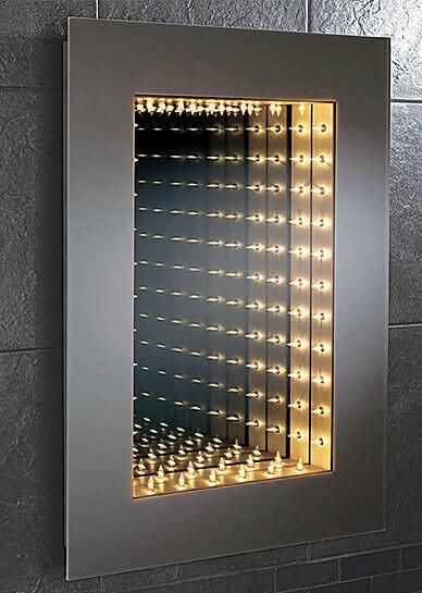 Collection of Designer Bathroom Mirrors  Standard Mirror