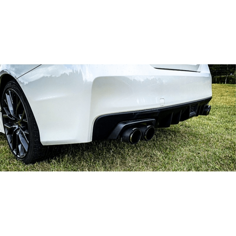 mbrp street 2 5in quad tip axle back exhaust 2015 wrx 2015 sti