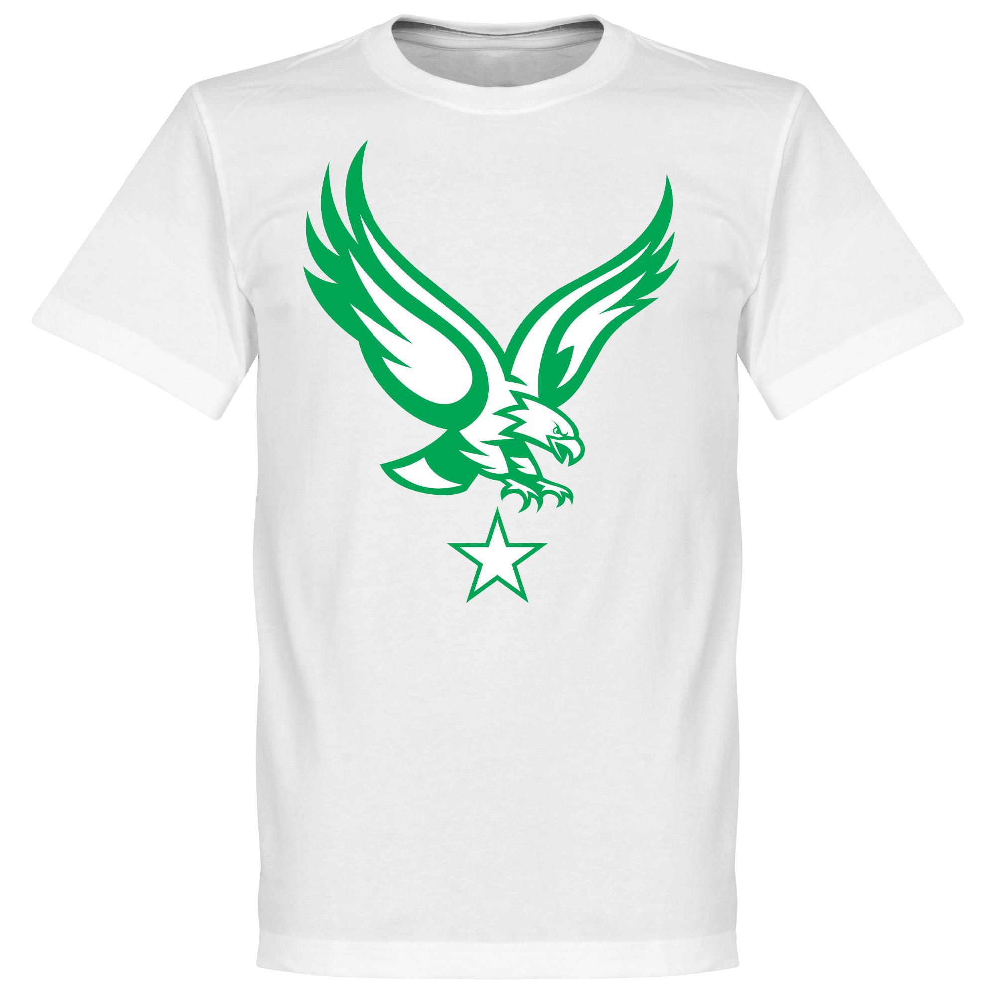 Togo Eagle Tee - White - L