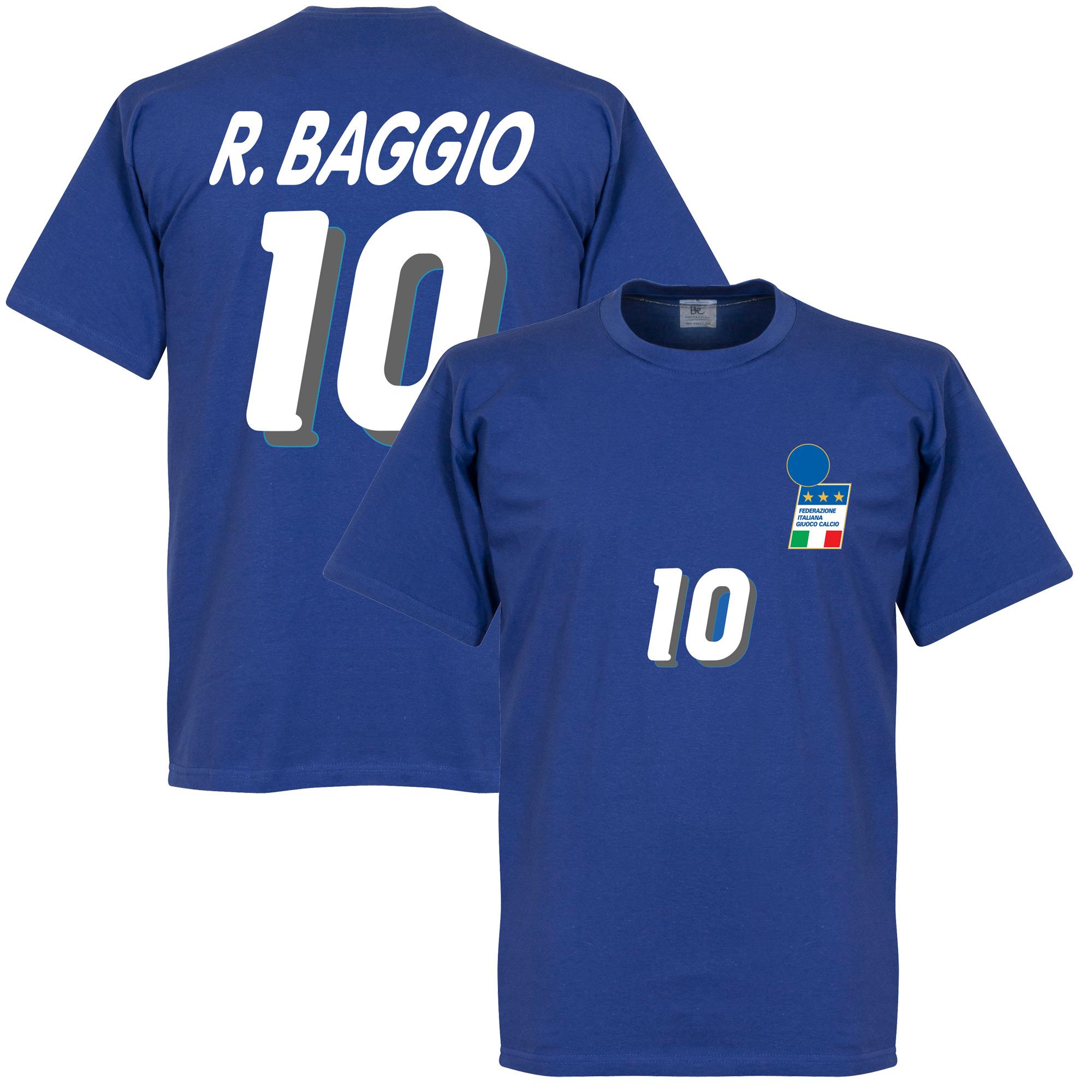 Baggio 1994 Italy Home Boys Tee - 2