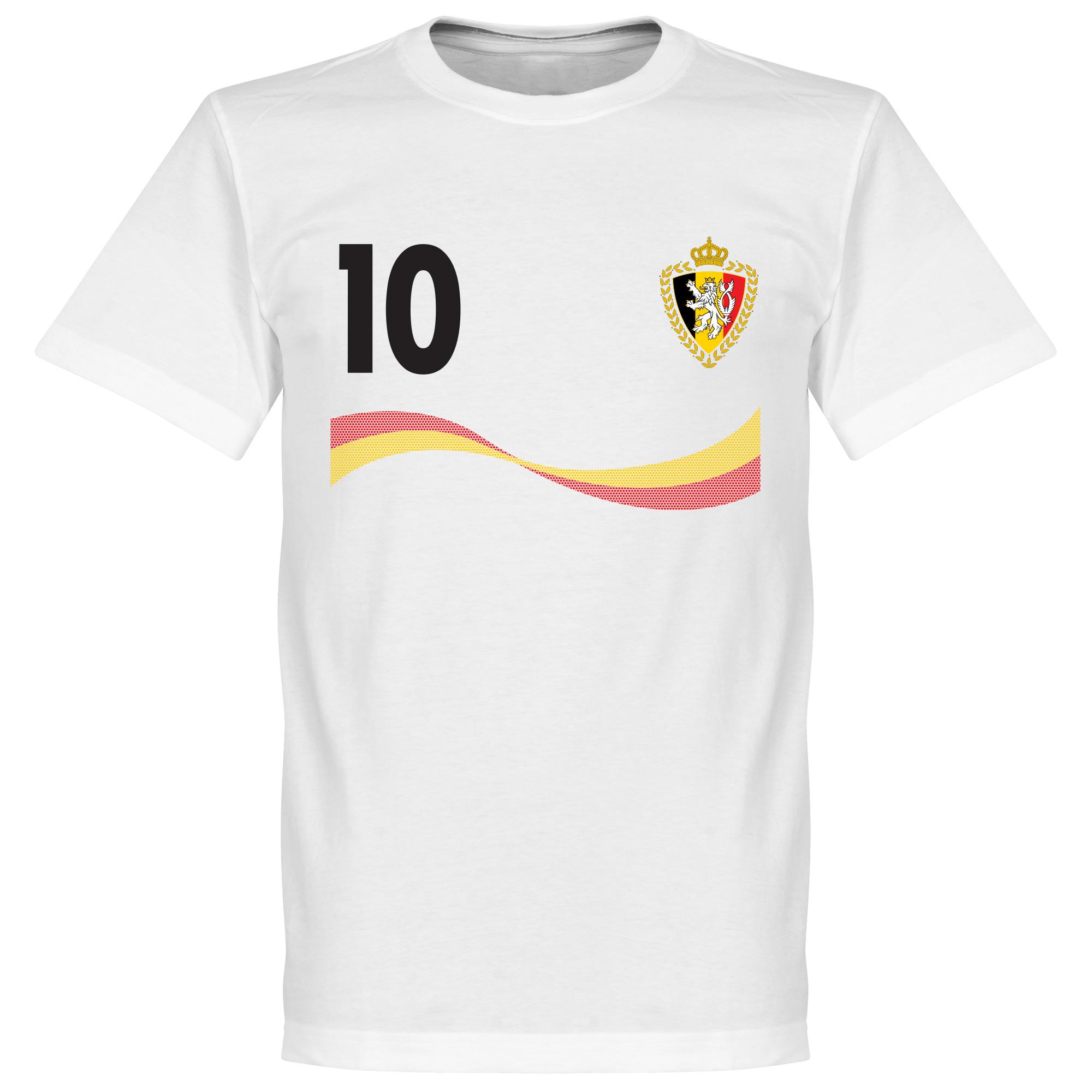 Belgium Hazard Tee - White - XXL