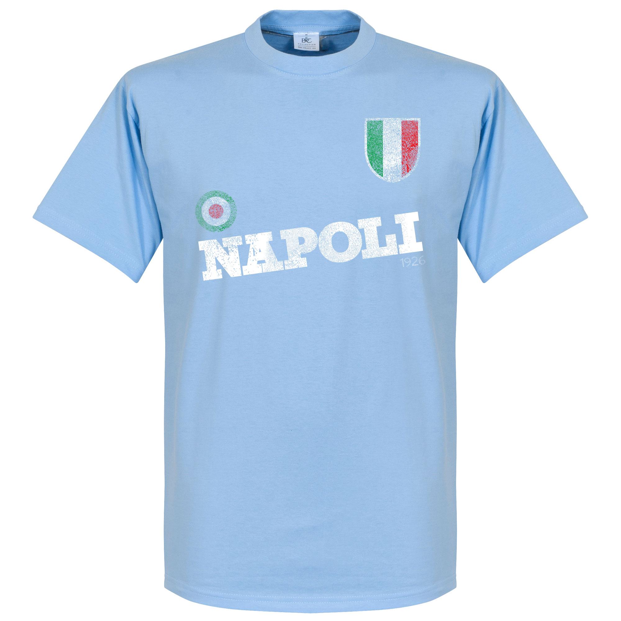 Napoli Coppa Italia Tee - Sky - XS