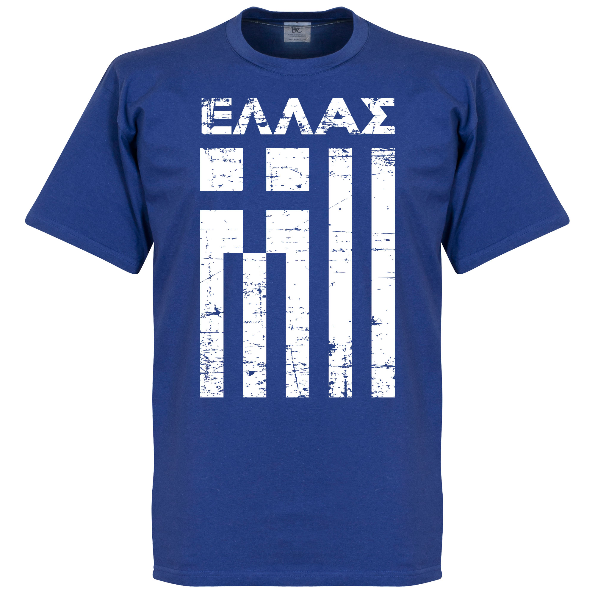 Greece Vintage Tee - Royal - XXXXL