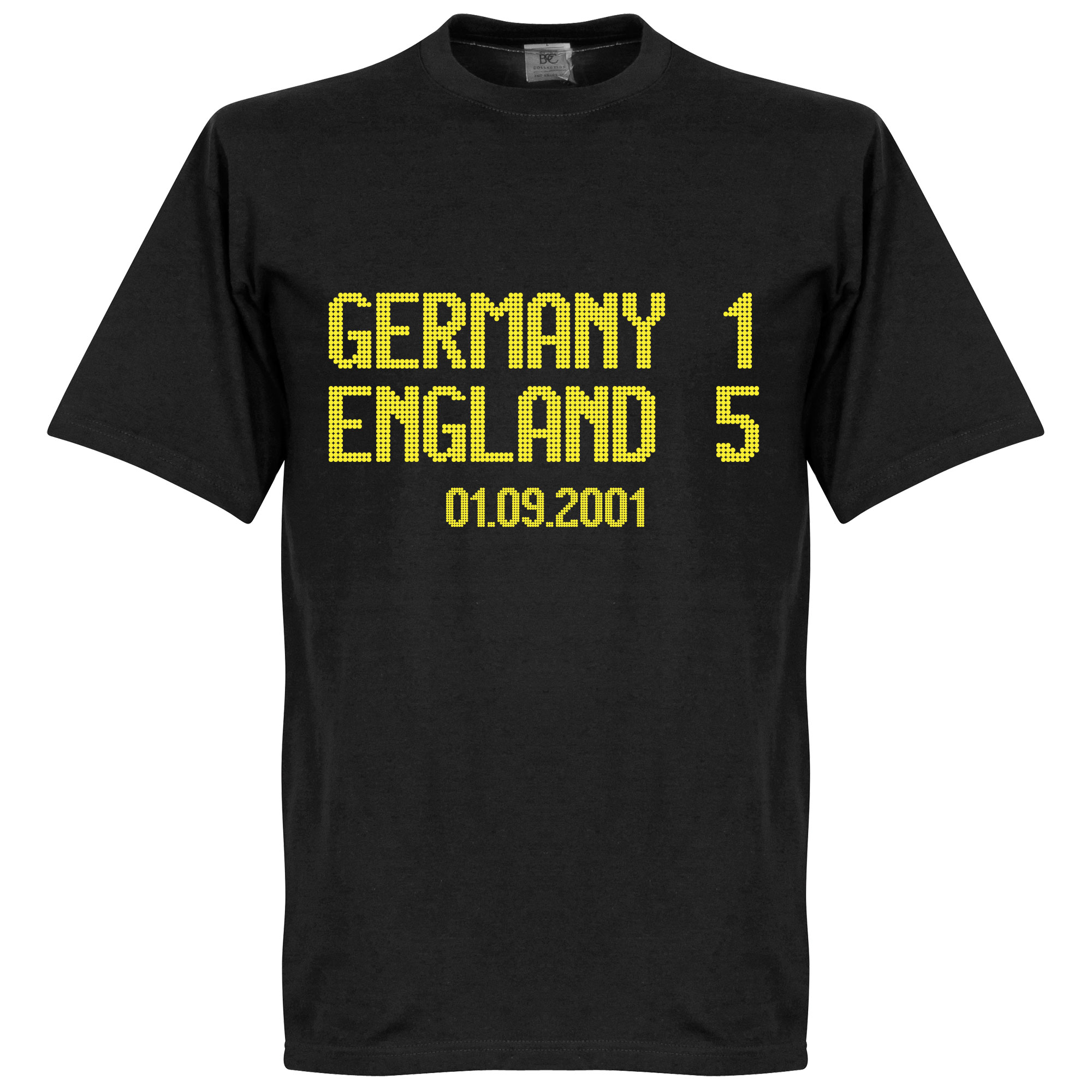 Germany 1 : England 5 Scoreboard Tee - XL