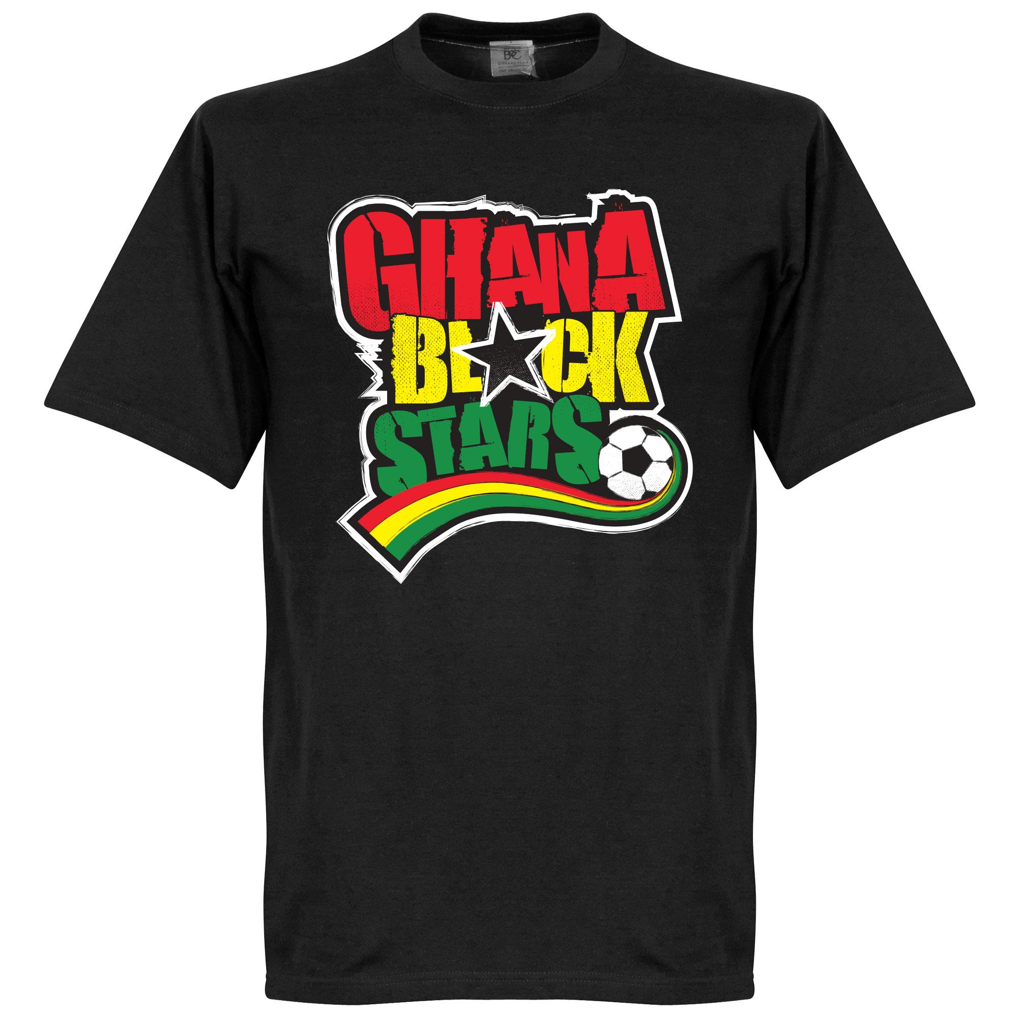 Ghana Black Stars Tee - Black - M