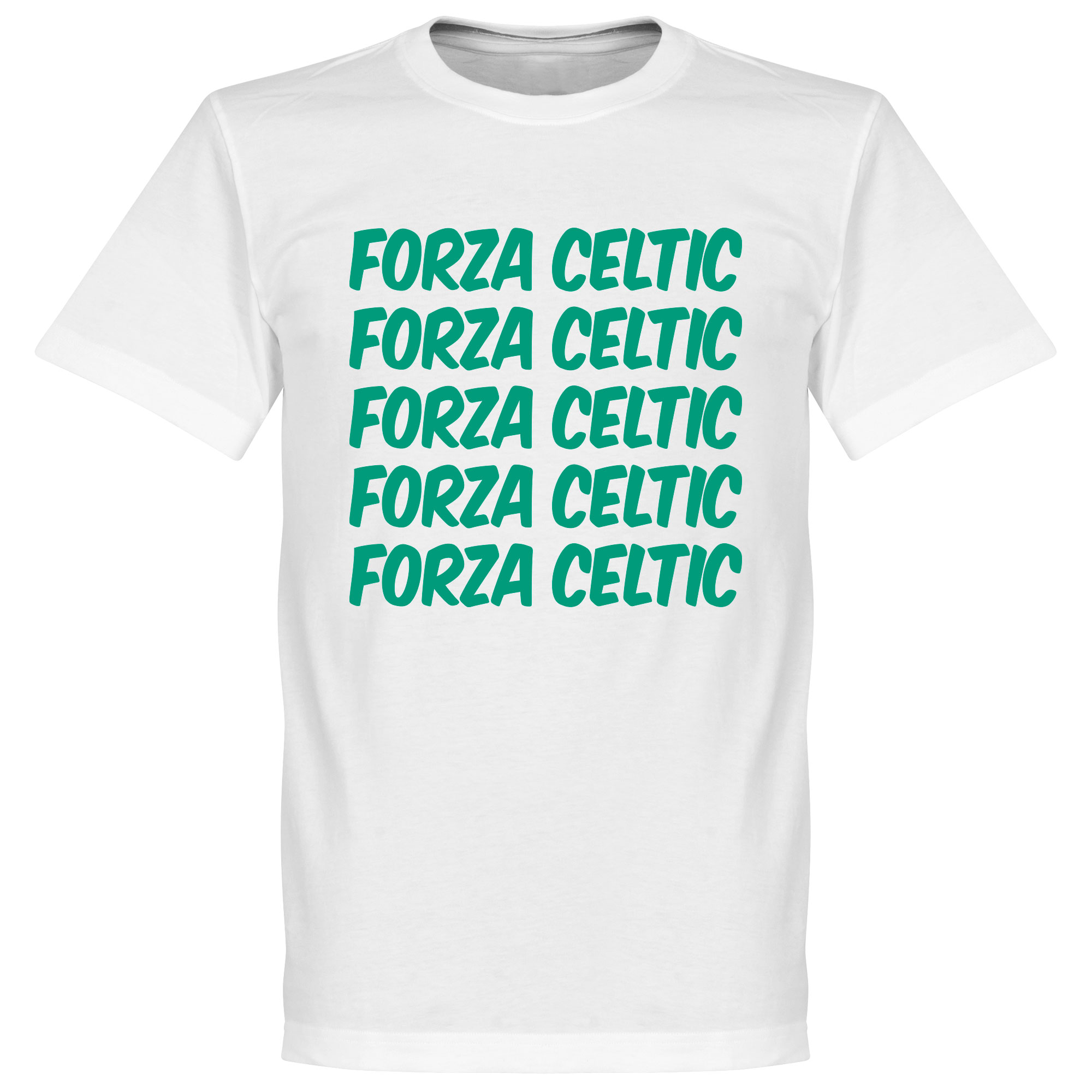 Forza Celtic Tee - White - XS