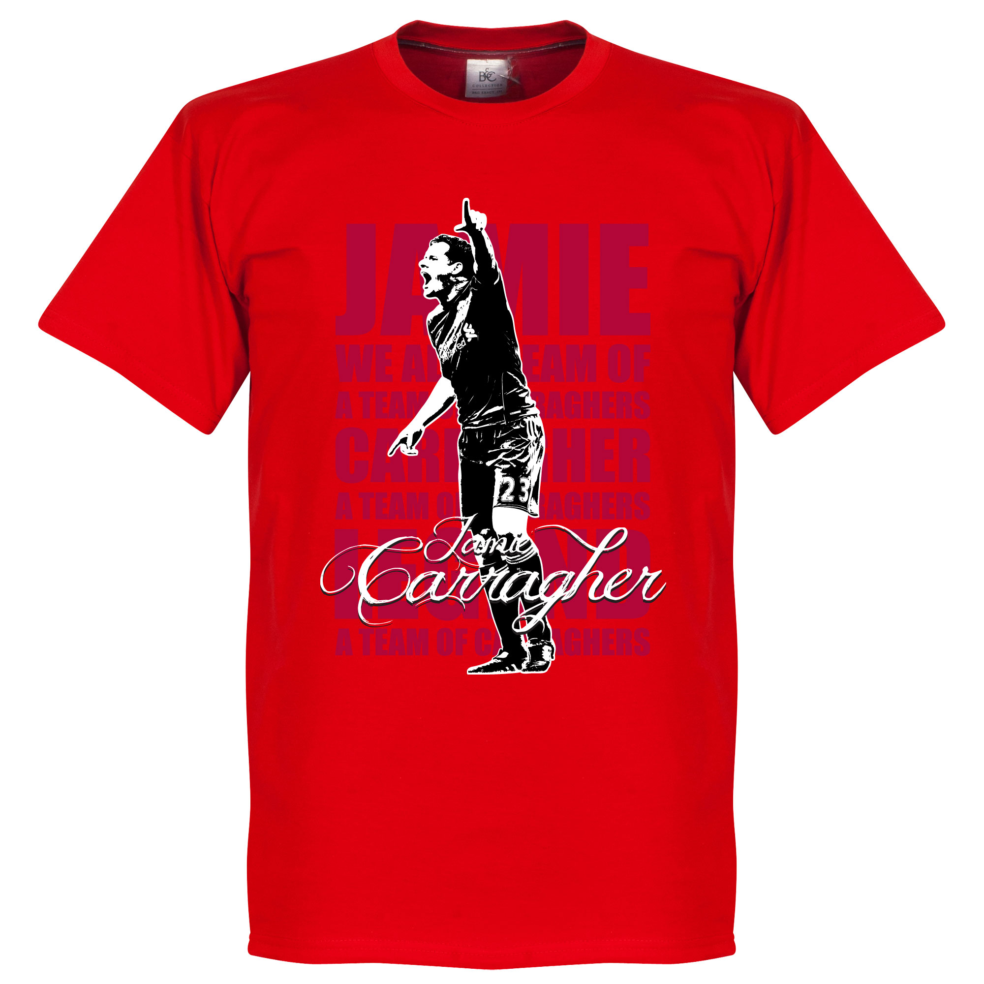 Jamie Carragher Legend Tee - XXXL