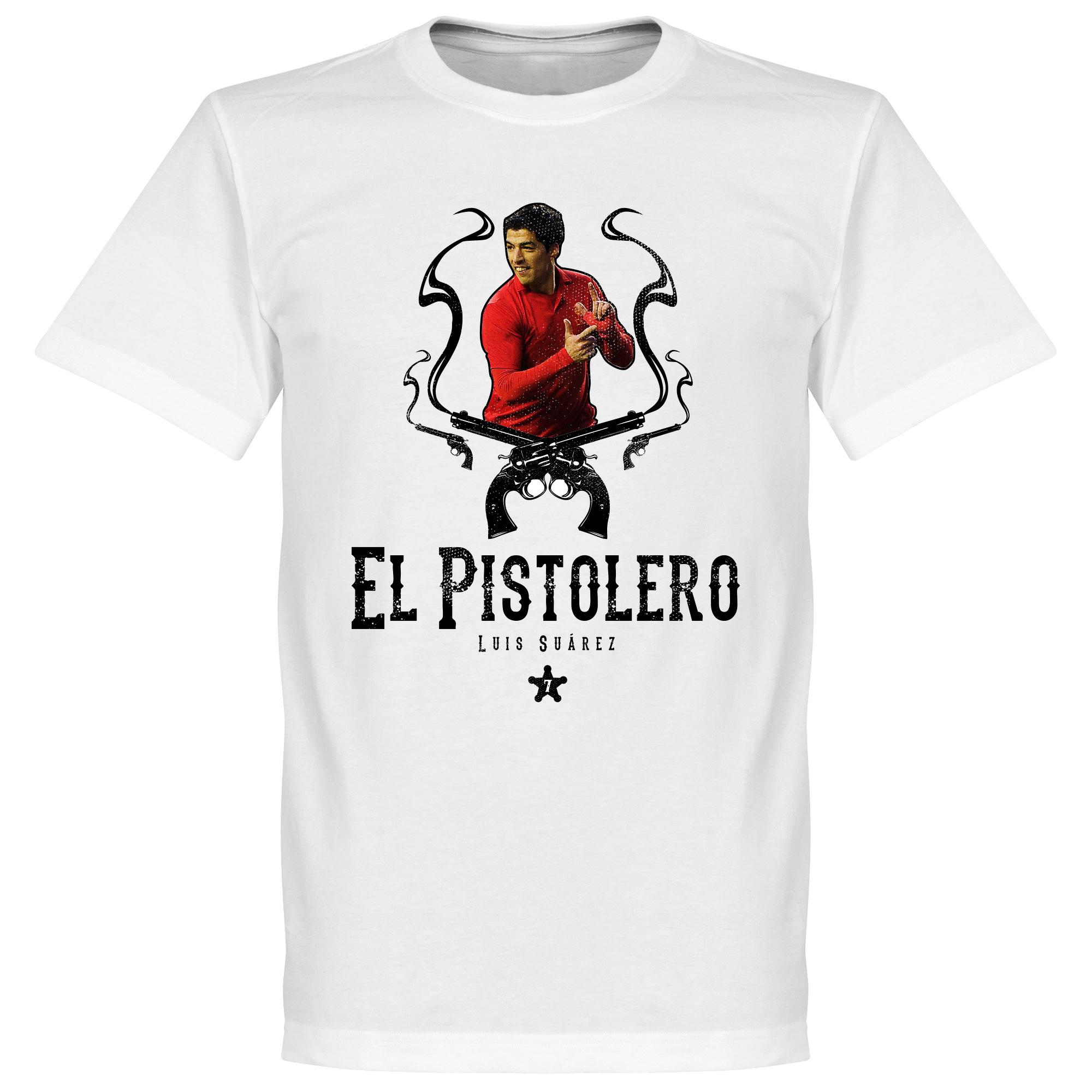 El Pistolero Luis Suarez Liverpool Kids Tee - 3-4YRS
