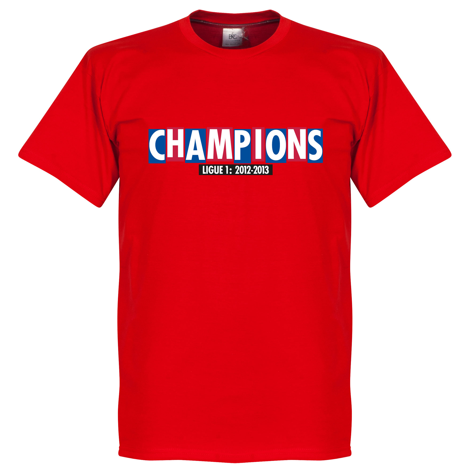 Paris Champions Tee - Red - S