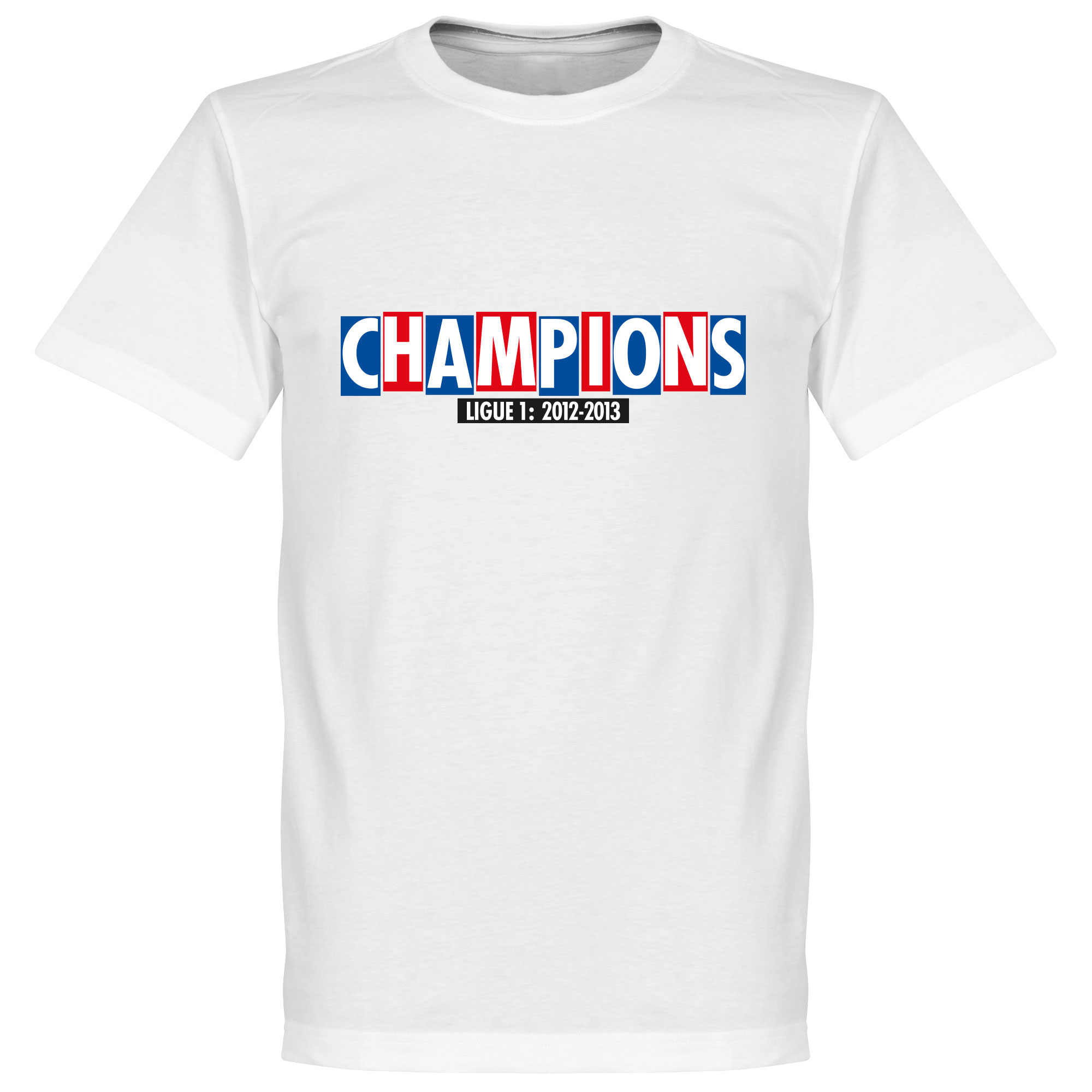 Paris Champions Tee - White - XL