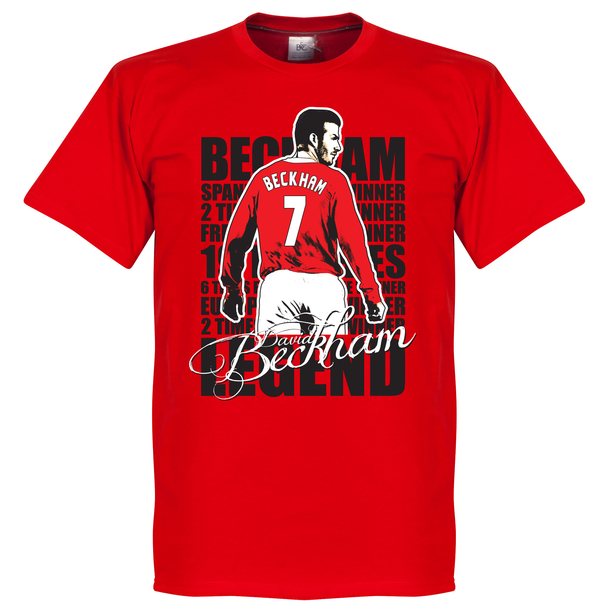 David Beckham Legend Tee - Red - L