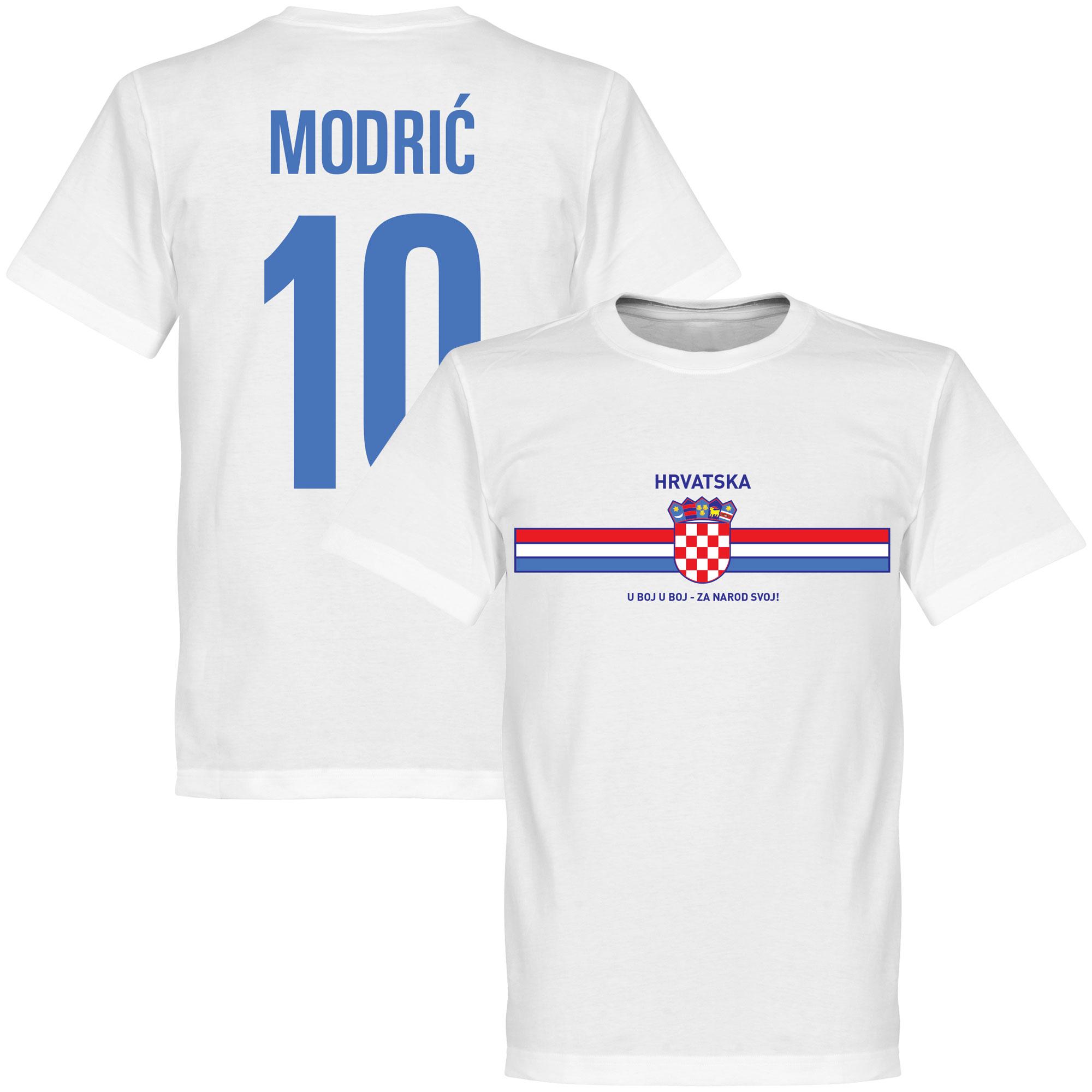 Croatia Modric Logo Tee - XXL