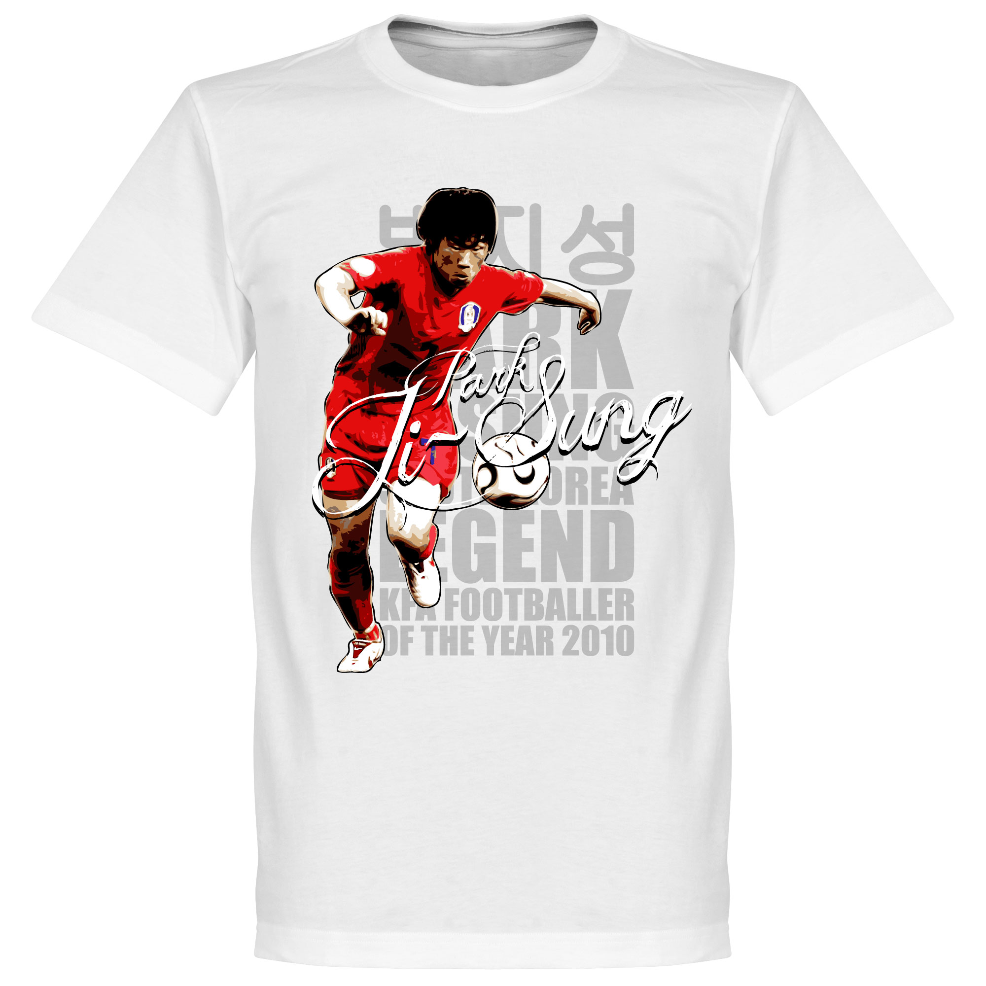 Ji Sung Park Legend Tee - White - L