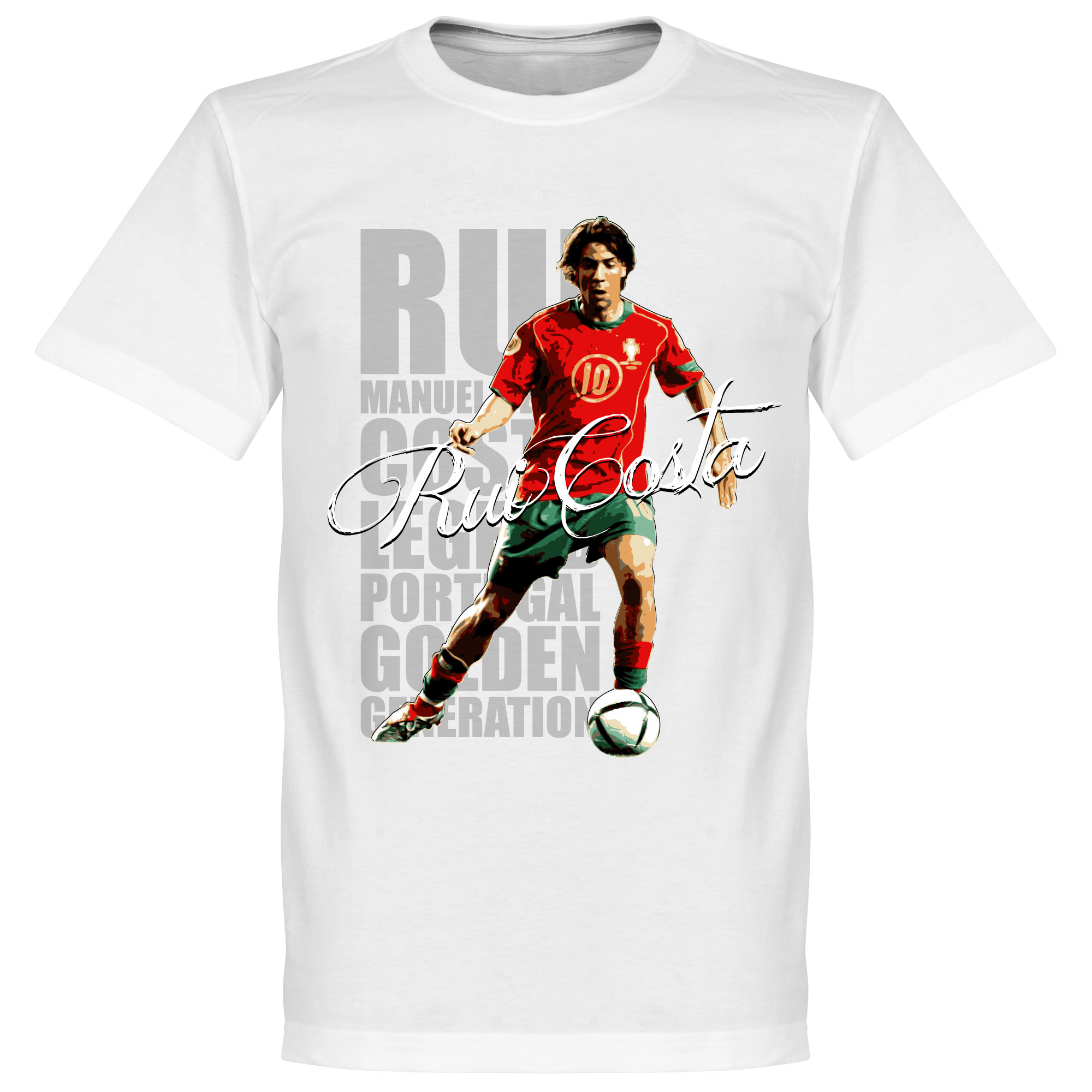 Rui Costa Legend Tee - White - S
